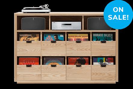 Dovetail Sonos Vinyl Storage Cabinets