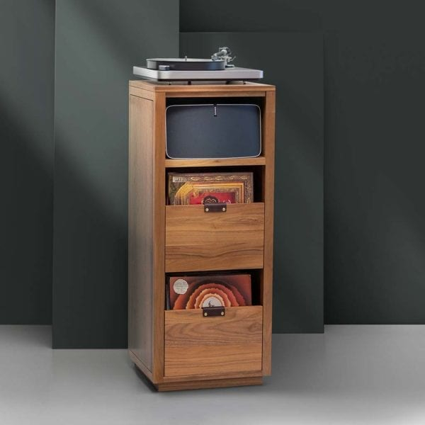 Dovetail Sonos Turntable Storage Cabinet