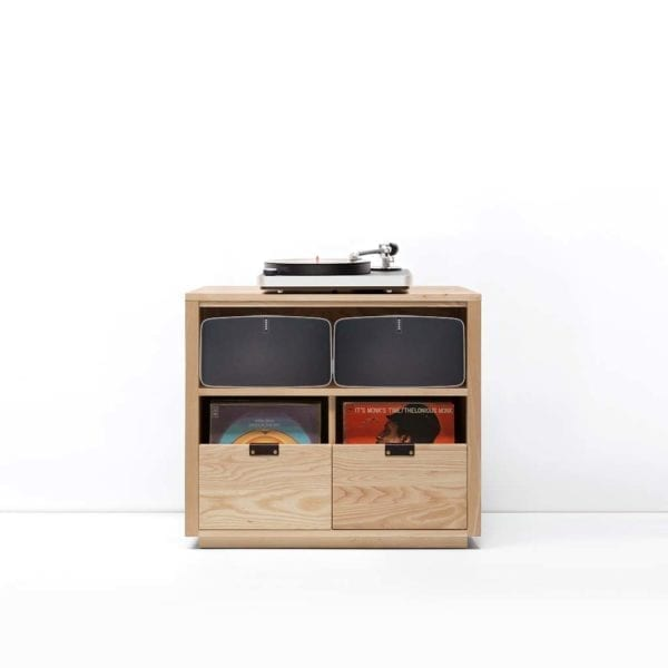 Dovetail Sonos Vinyl Storage Cabinet