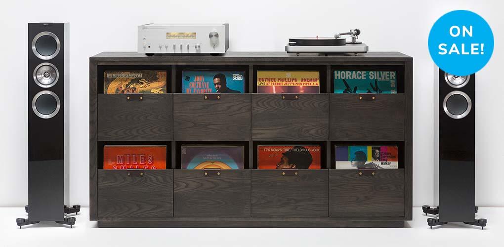 Dovetail Vinyl Storage Cabinet Header