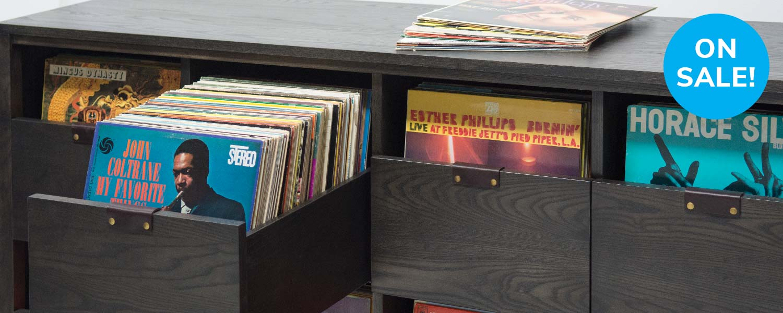 Dovetail Vinyl Storage Cabinet Sale