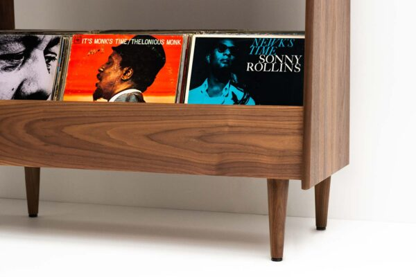 MCM Tapered Leg Record Stand