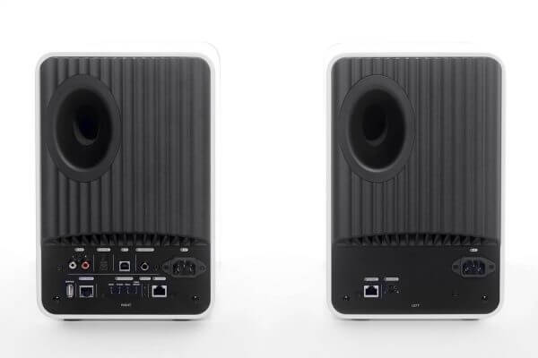 LS50 Wireless white rear pair