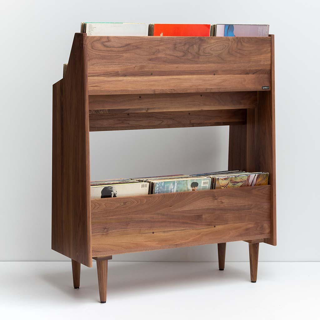 Luxe Record Rack Rear