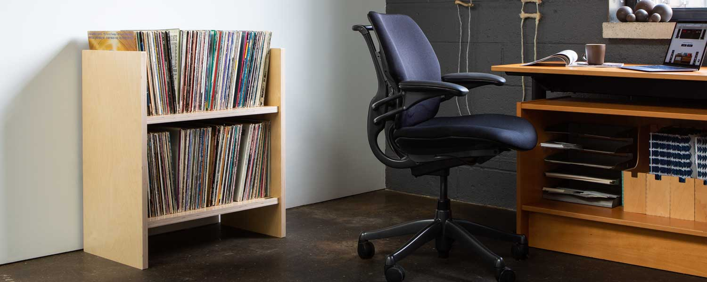 MAX Vinyl Record Storage Stand Modern