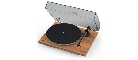 Pro-Ject T1 Phono SB Turntable in Walnut