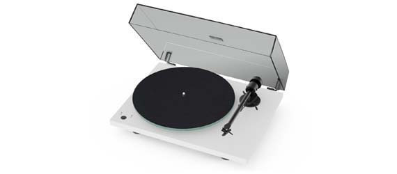 Pro-Ject T1 Phono SB Turntable in White