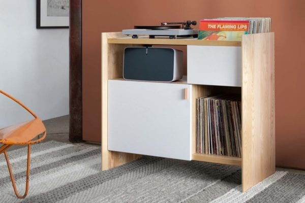 Unison Sonos Stand Vinyl Storage